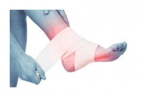Ankle sprain sports podiatrist Melbourne