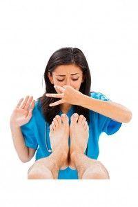 Smelly feet Melbourne podiatrist