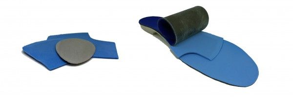 Orthotic repairs Melbourne padding options
