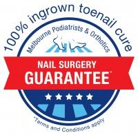 ingrown toenail surgery guarantee Melbourne podiatrist