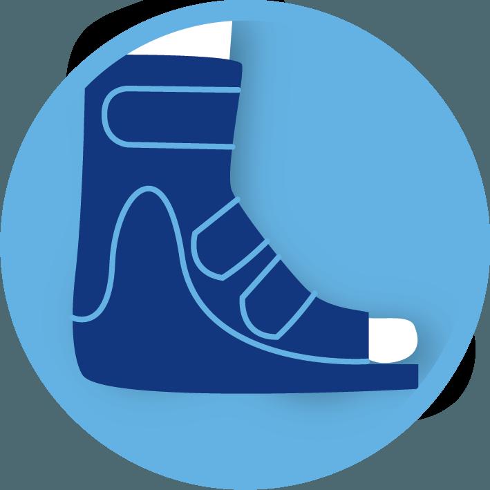 CAM Walkers Moon Boots Melbourne podiatrist